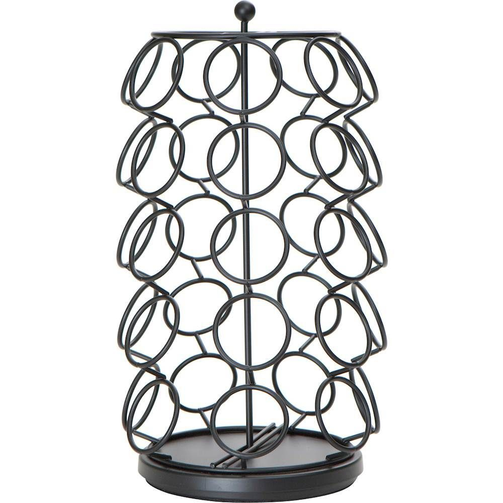 Mind reader spinner kcup coffee pods carousel storage black