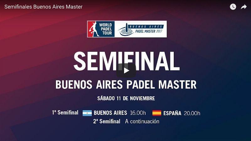 En Directo Y Online Semifinales Máster World Padel Tour Buenos Aires 2017 Máster Padel Buenos Aires