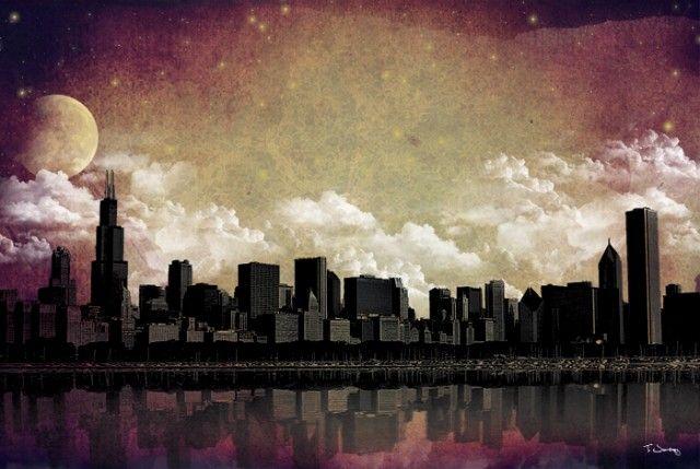 Los Paisajes Urbanos de Tim Jarosz