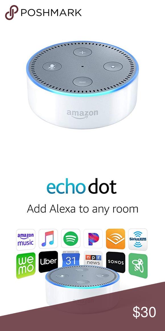 Echo Dot (2nd Generation) Smart speaker w/ Alexa in 2020