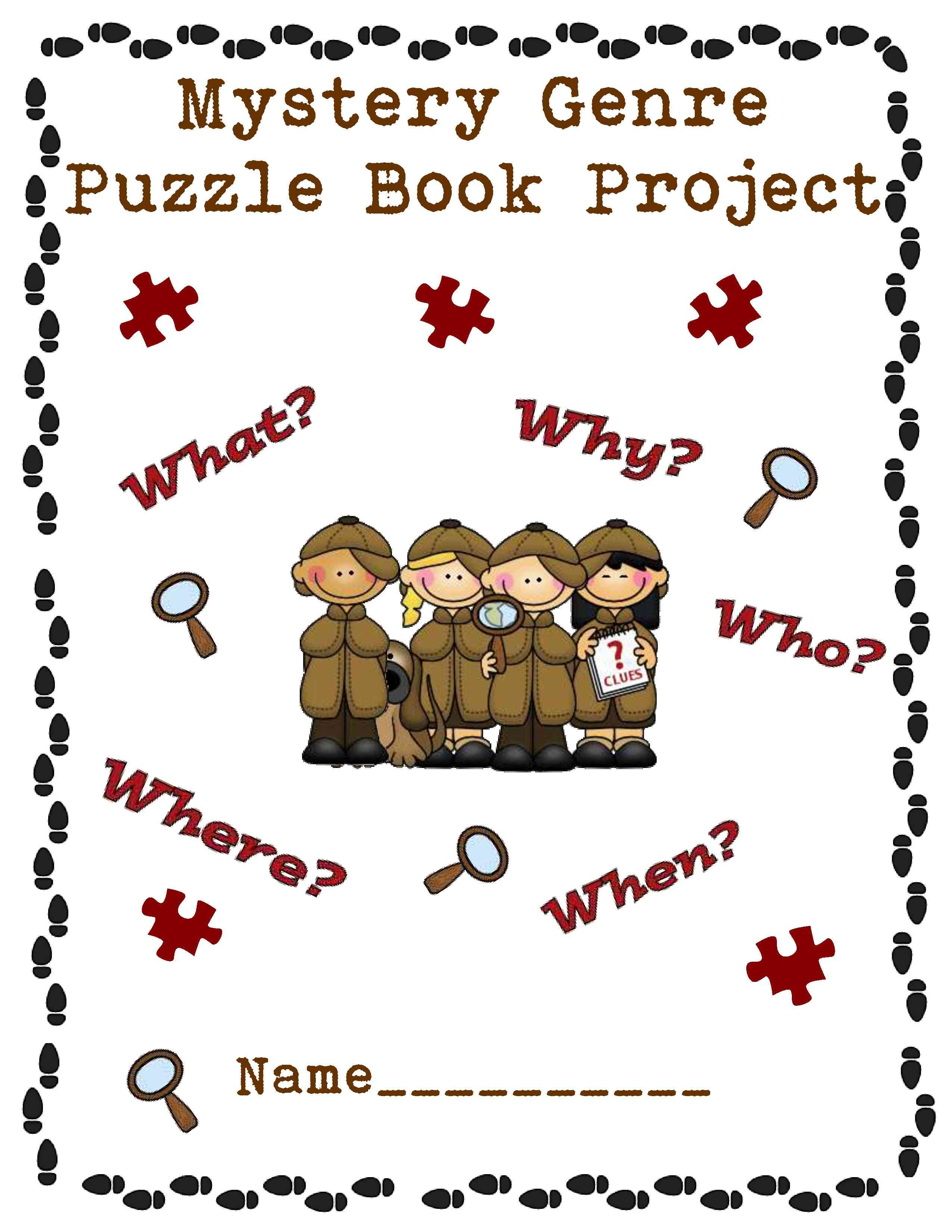 Mystery Genre Book Project For The Classroom Pinterest Mystery