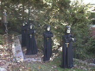 Death monks - insert Gregorian chanting here