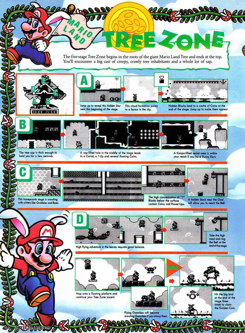 Mario Land 2 official guide | Super mario bros | Super mario