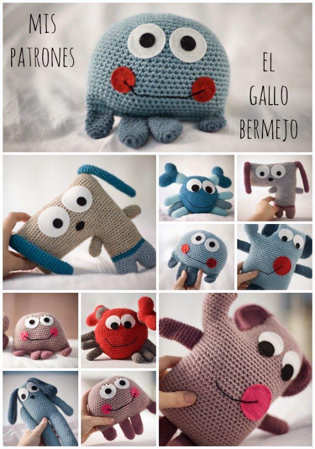 Patrones de El Gallo Bermejo -- El Gallo Bermejo patterns   Crochet ...