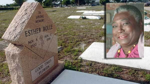 Esther Rolle | [ final resting ] ♡♡♡ | Famous tombstones ...