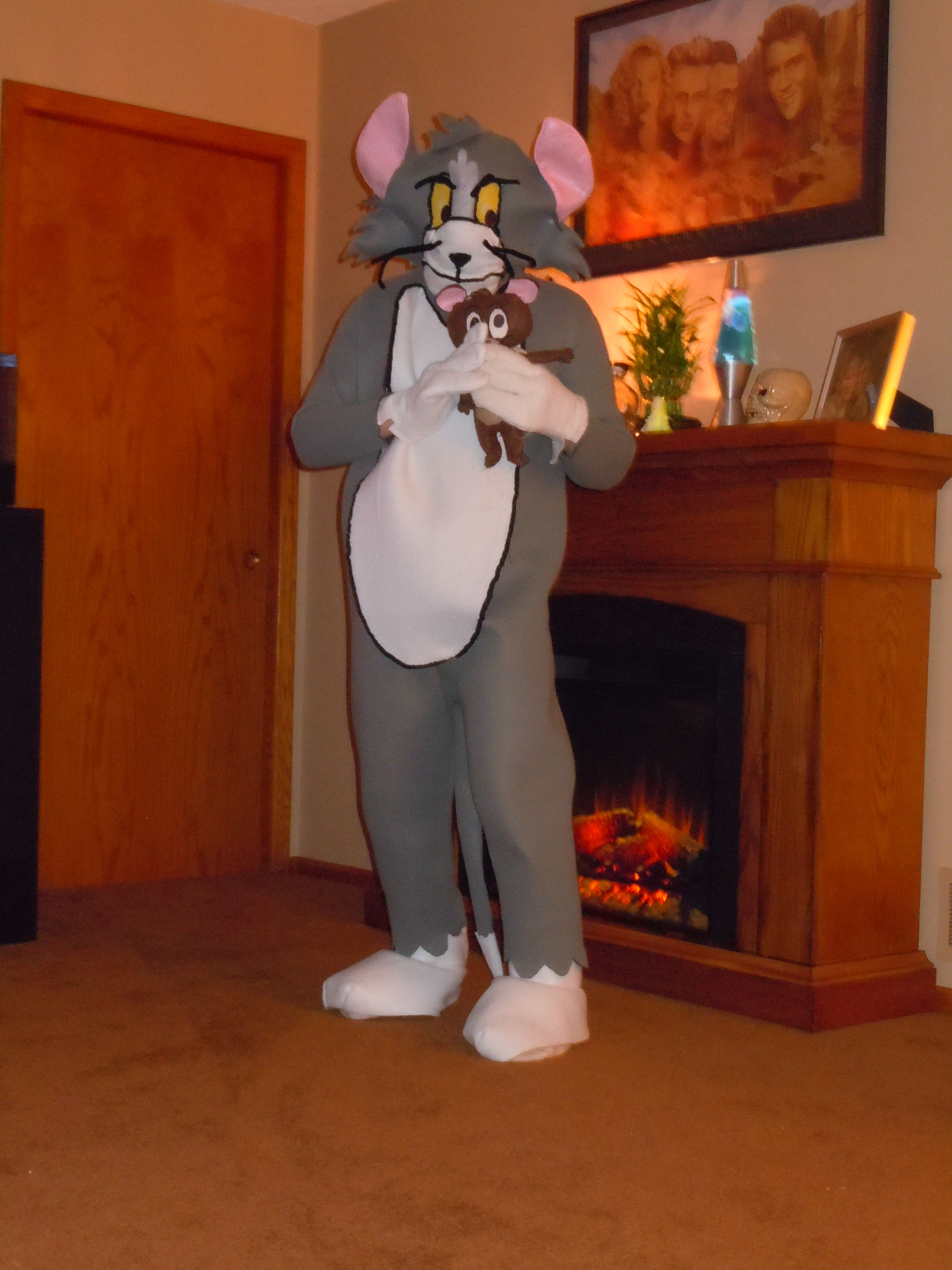 tom  jerry  halloween costumes homemade costumes scary