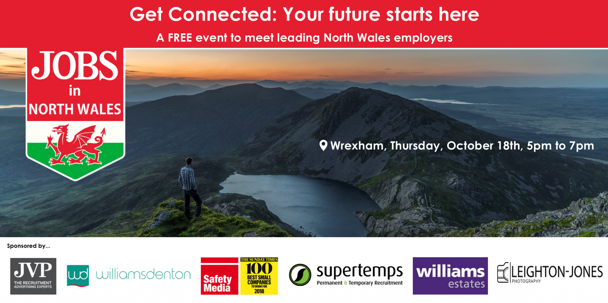 GET CONNECTED: Your future starts here – a FREE event to meet leading North Wales employers #northwales