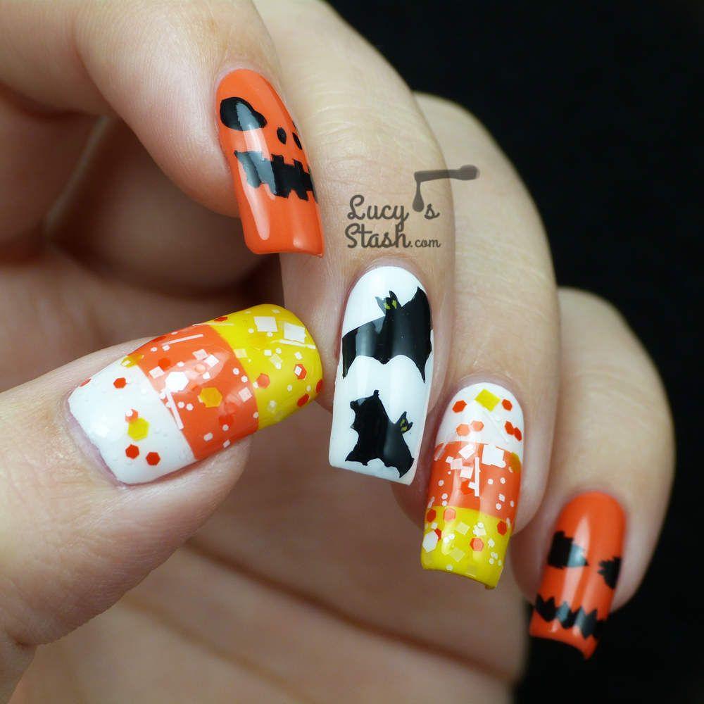 lucy s stash halloween #nail #nails #nailart | nails | pinterest