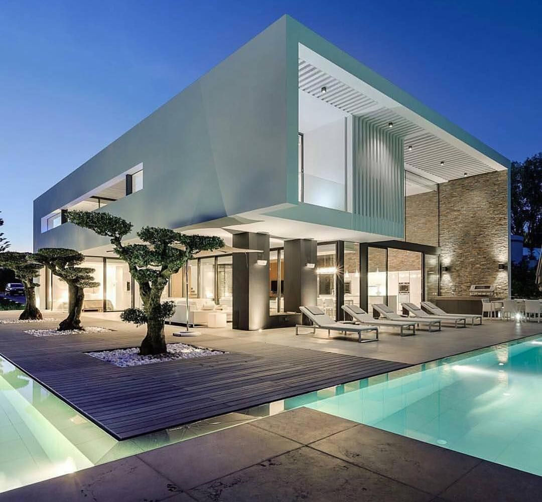 Villa 1059 by arqui studio architects algarve portugal for Pool im bauhaus