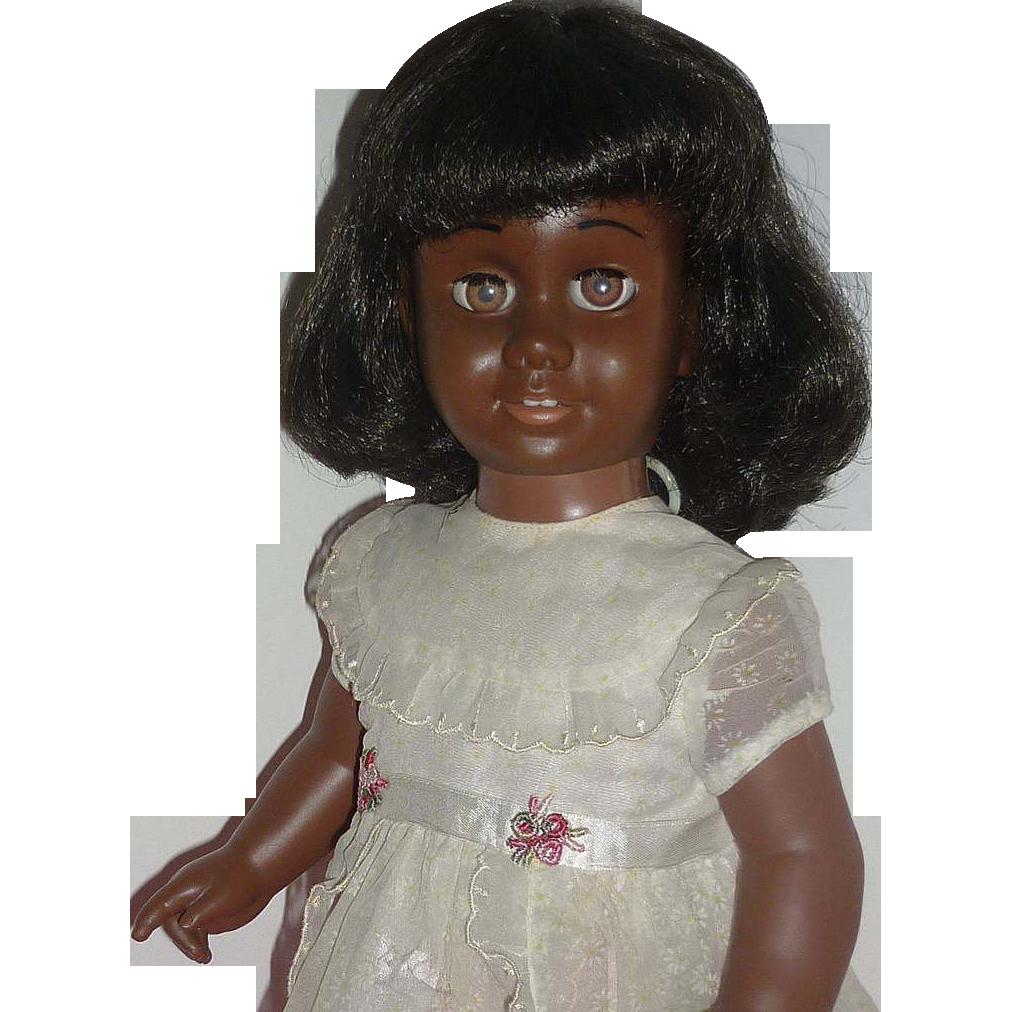 SOLD - 1960's -Mattel -Black Chatty Cathy Doll -Wears Sunday Visit - Talks