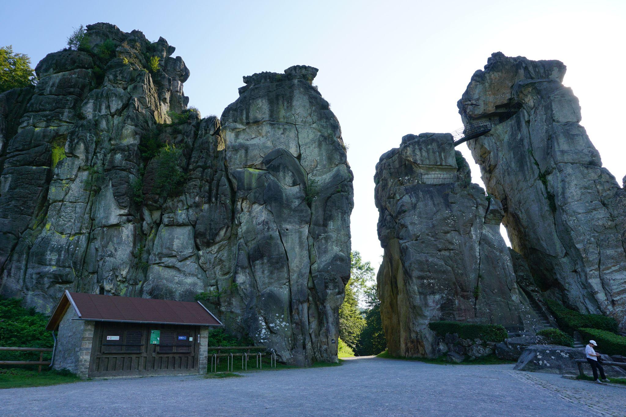 Horn Bad externsteine bei horn bad meinberg in der nähe detmold http
