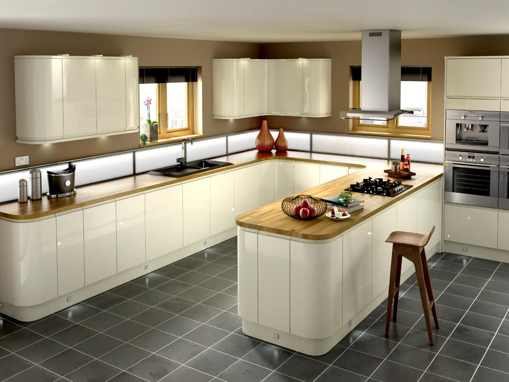 Gloss kitchen Order kitchen, Kitchen design, Glossy kitchen