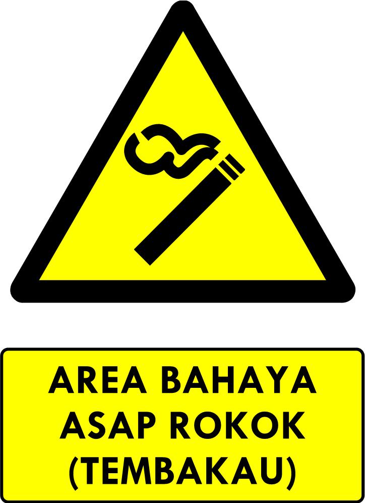 Safety Sign Area Asap Tembakau Fotografi Inspirasi P3k Fotografi