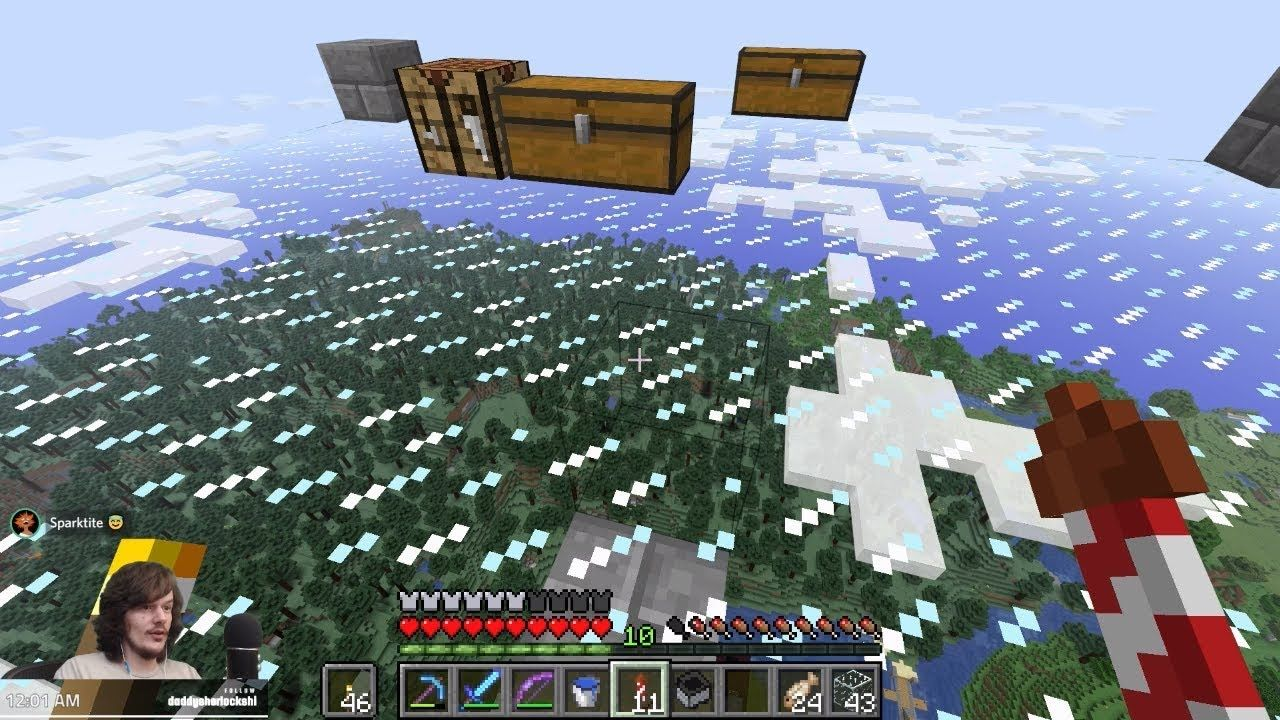 Minecraft Working On The Ocean Monument A Creeper Farm