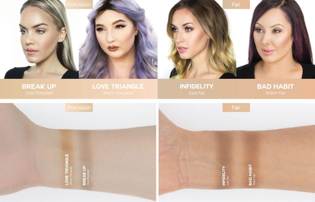 Makeup Geek Contour Powders For Porcelain Fair Skin Tones Makeupgeek Beauty