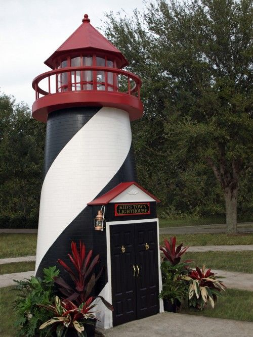 custom playhouse designs for businesses lilliput - Lighthouse Playhouse Building Plans