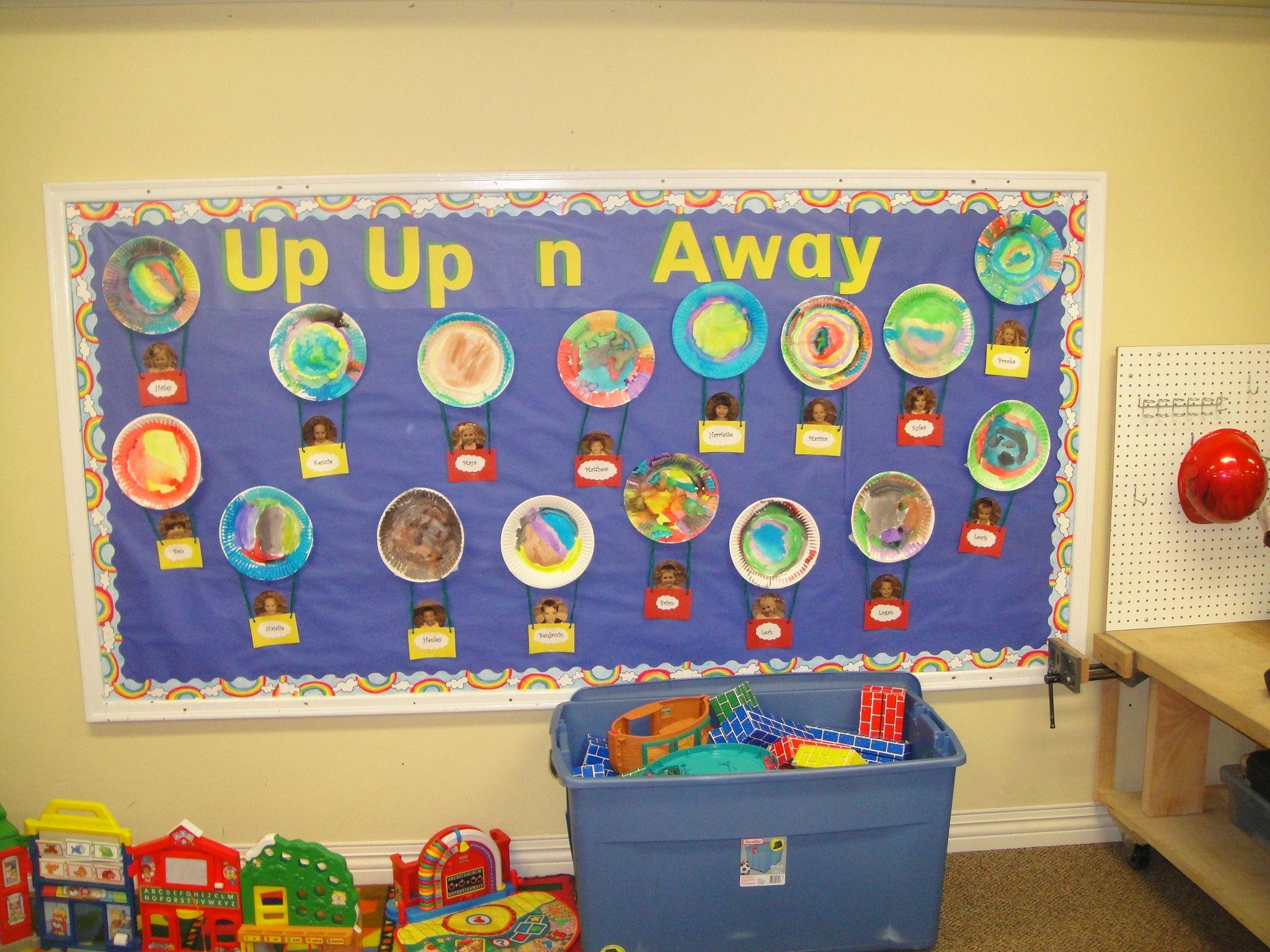Up Up And Away A Kindergarten Send Off Hot Air Balloon