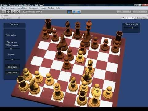 Unity3d Chess Project Youtube Unity Games Unity Tutorials