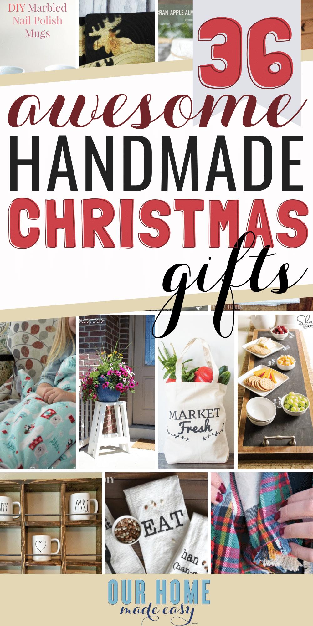 The Easiest Christmas Homemade Gifts