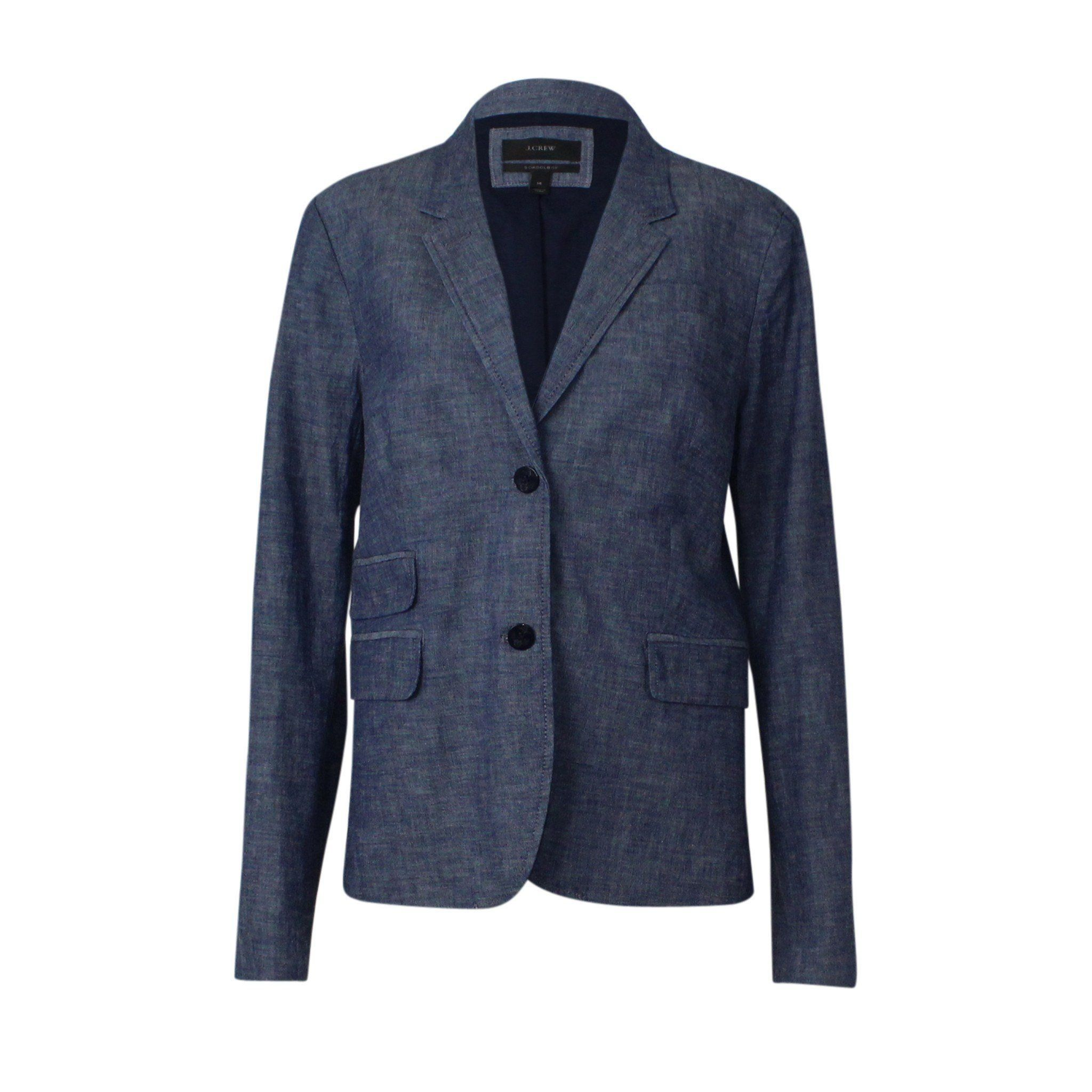 Schoolboy Blazer in Chambray for only $110.00   #autumncolors #fall2017 #sweaterweather
