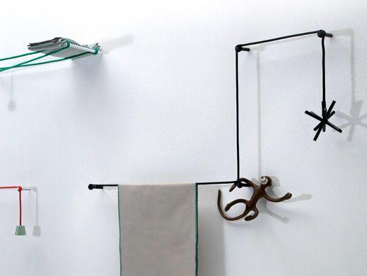 Towel Hanger by Hioomi Tahara Design Pinterest Towels - porte serviette salle de bain design