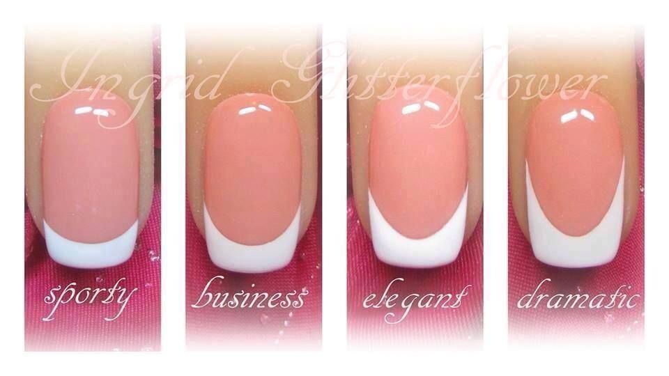 Nails Smile Line French Tip Nails Manicure French Nails