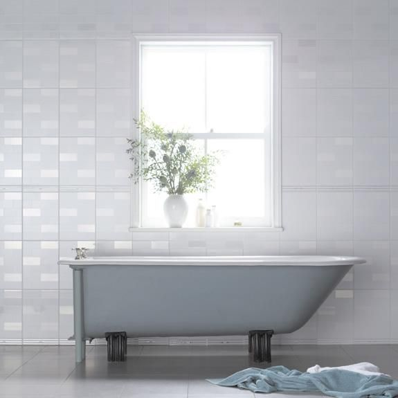These Simple Tiles Are Highgate By Laura Ashley.