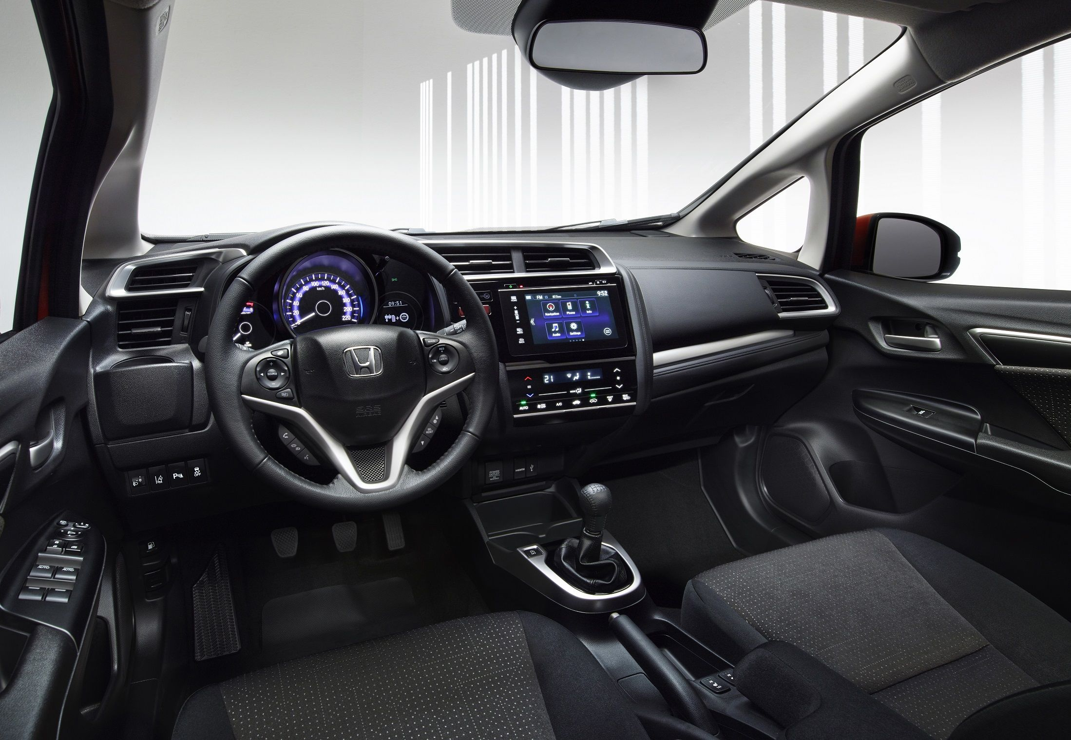 The Interior Of The New Honda Jazz Honda Fit Honda Jazz New Honda