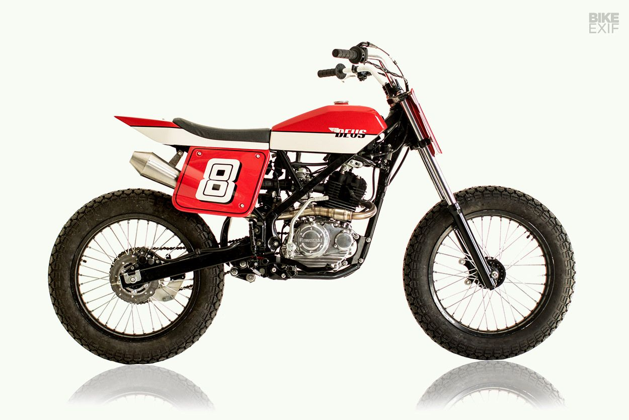 Good Things Come In Small Packages Klx 150 By Deus Kawasaki Sonic 150r Honda Racing Red Jakarta Beach Tracker Bali