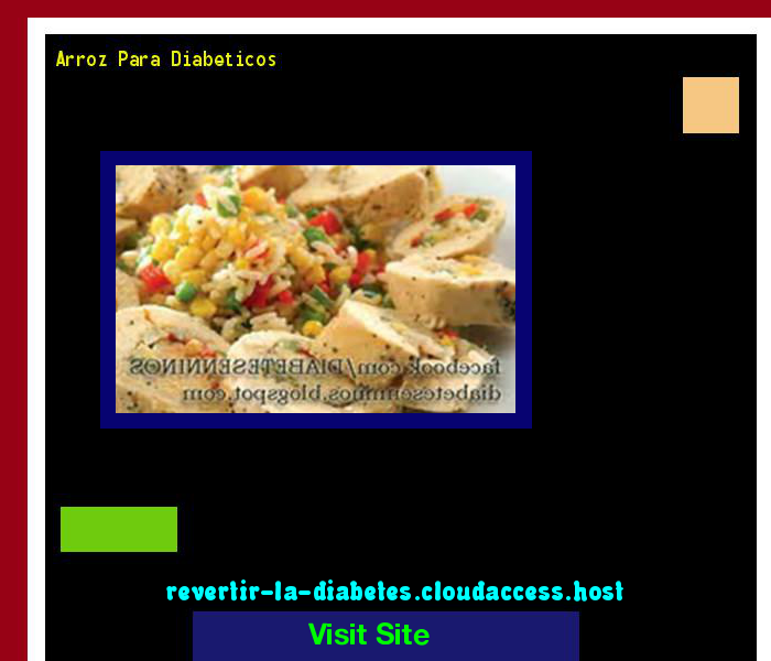Arroz Para Diabeticos 190552 - Aprenda como vencer la diabetes y recuperar su salud.