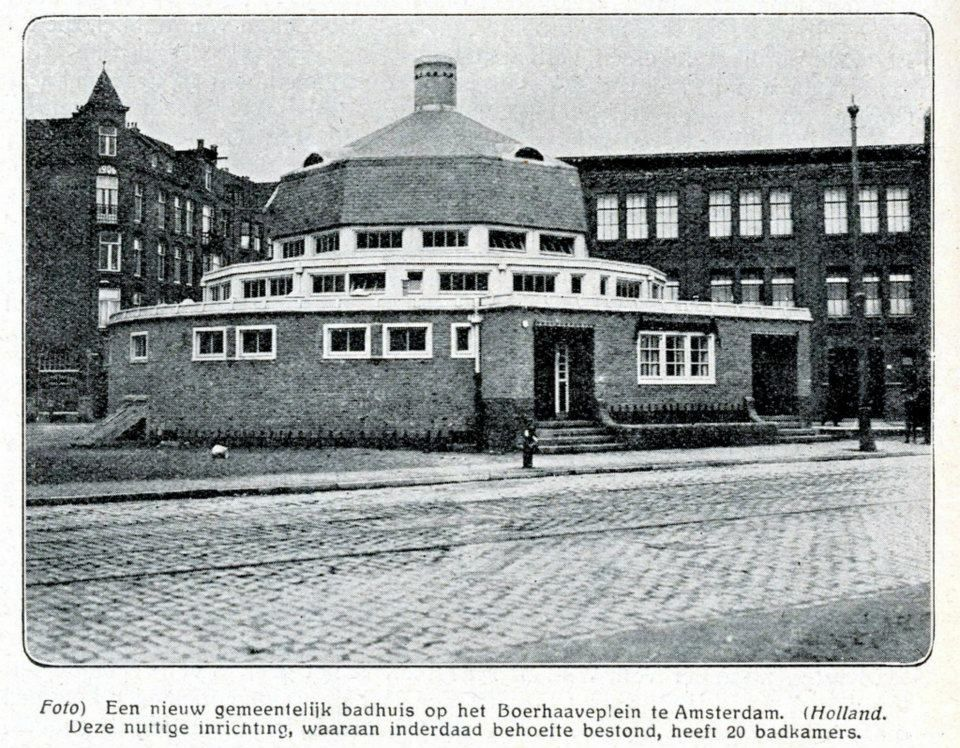 1922 Boerhaaveplein nieuw badhuis
