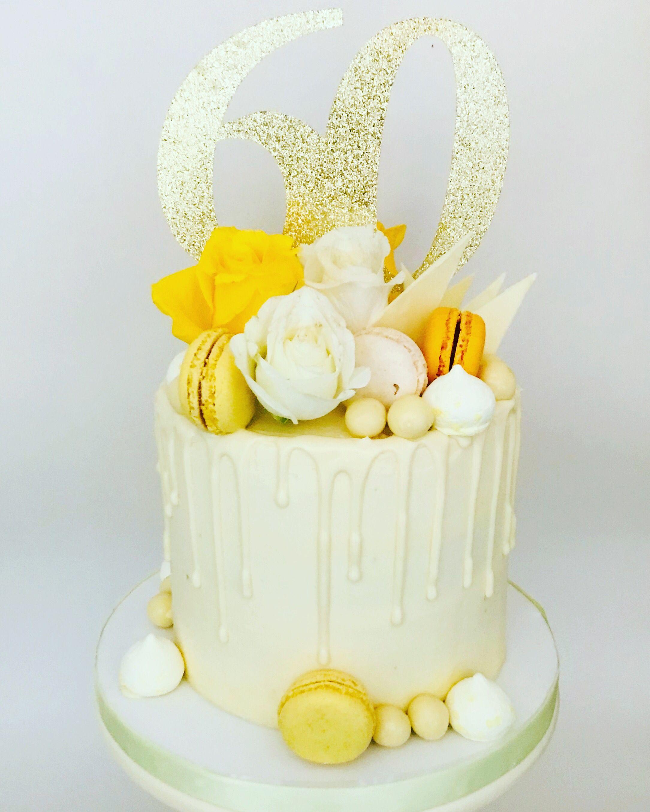 Pin By Tomasa Alvarez On Baking Lemon Birthday Cakes Drip Cakes