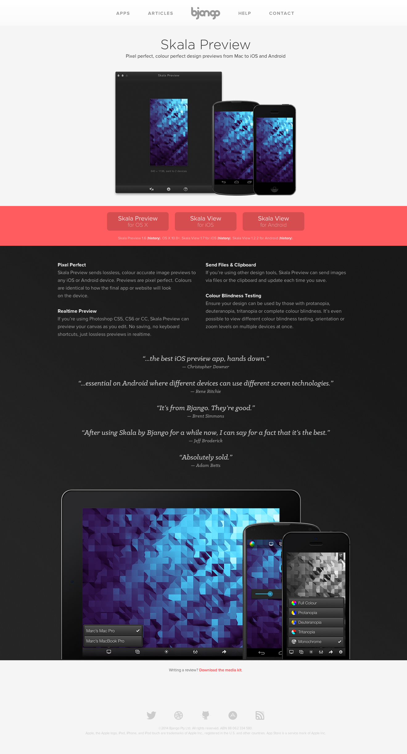 Skala Preview, a Mac app by Bjango
