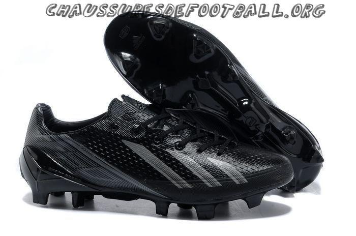 Adidas Adizero F50 FG Noir Gris   Nike soccer shoes, Soccer shoes ...