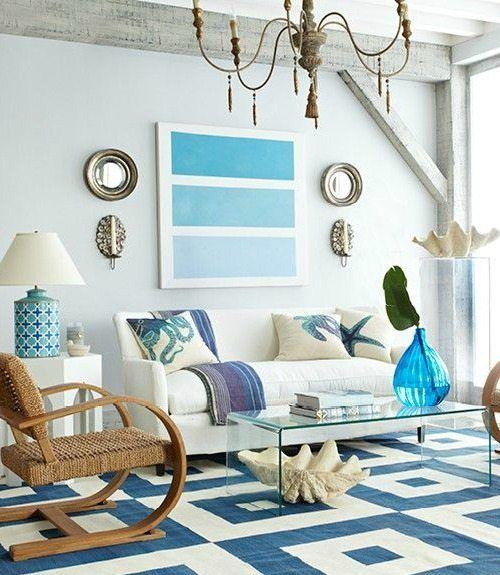Inspiring Beach Wall Decor Ideas For The Space Above The Sofa