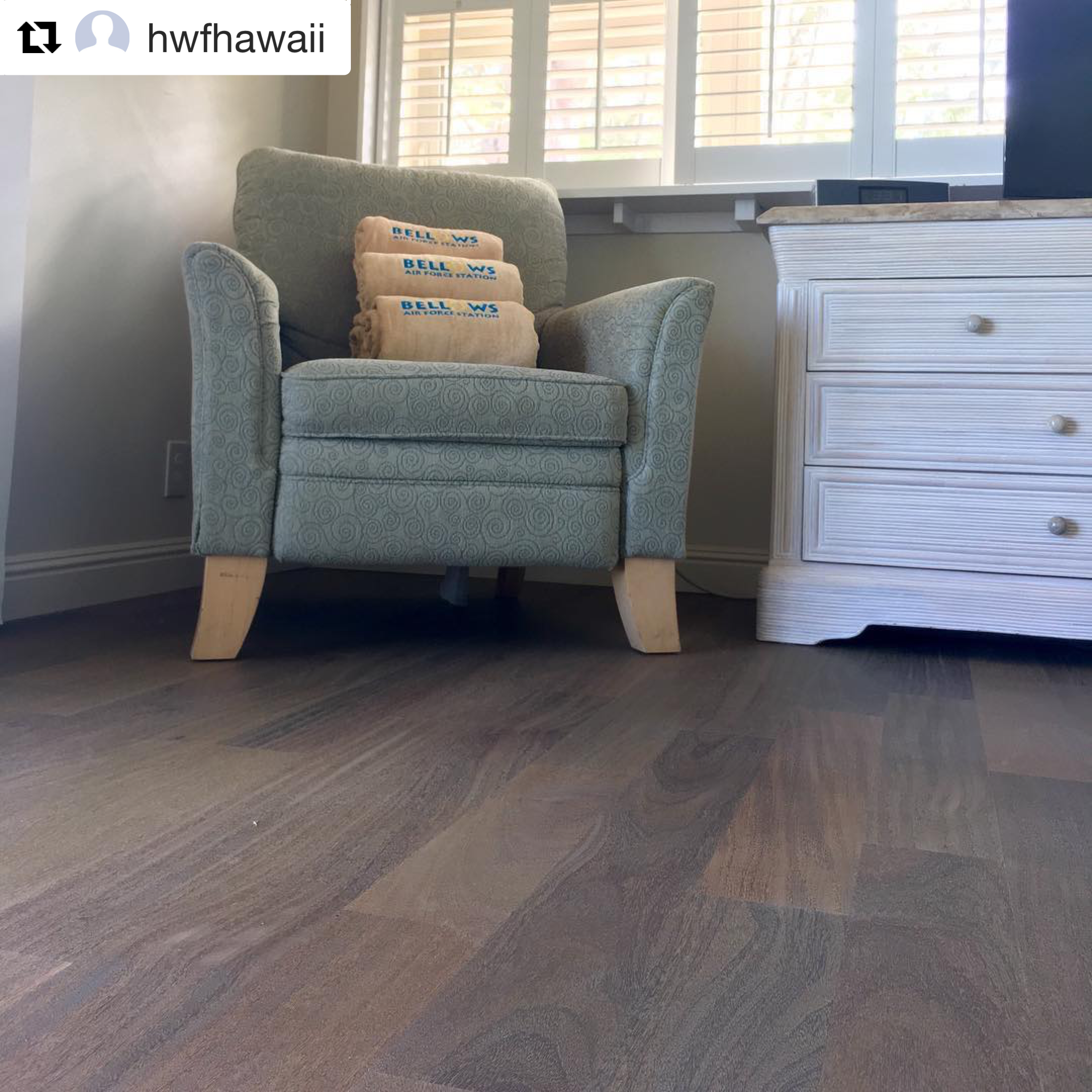 Cumaru Exotic Wood Flooring Treated With WOCA Antique Lye And Finished With  WOCA Diamond Oil White