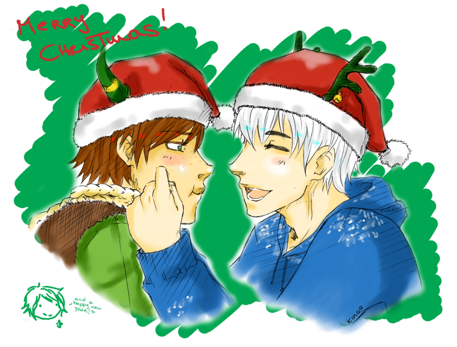 Snow and Vikings for Christmas! by CrazyKinoko.deviantart
