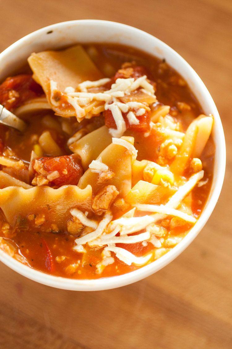 Vegan Lasagna Soup — Produce On Parade