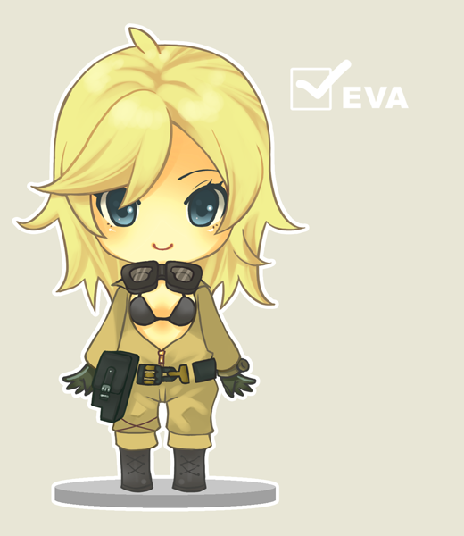 Nendoroid-like Metal Gear Solid Solid Snake