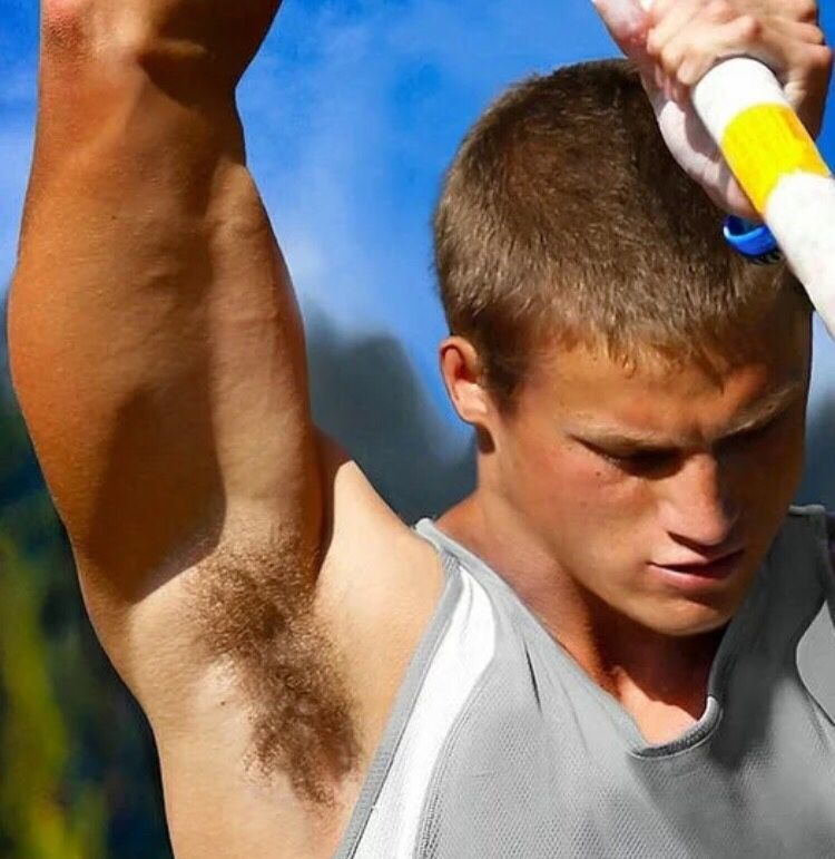 Pretty Hot Pole Vaulter With Images Armpits Athletic Men