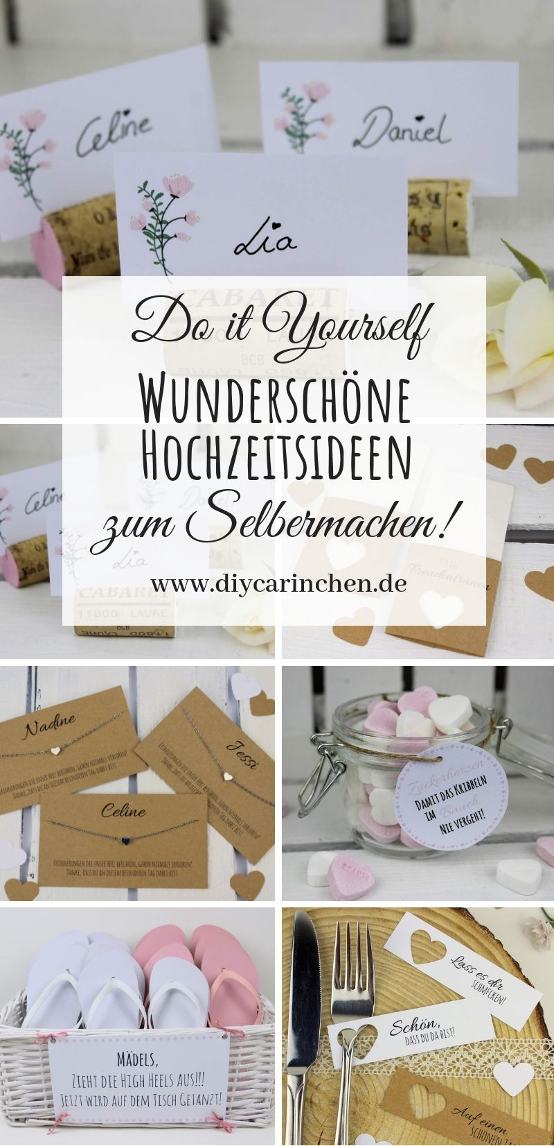 Diy Die Schonsten Do It Yourself Ideen Fur Eure Hochzeit Diy