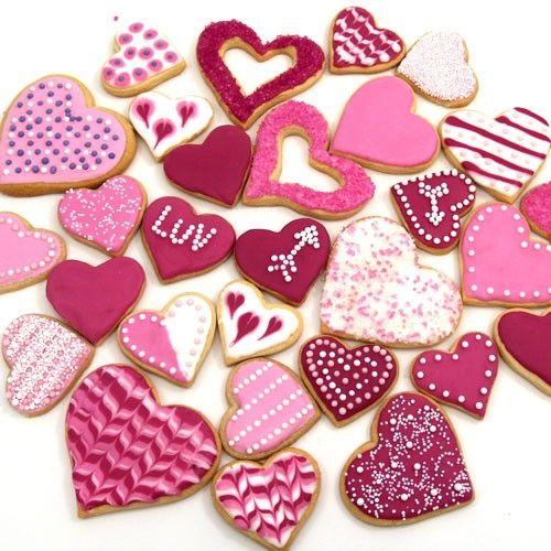 Elegant Valentine Cookie Decorating Ideas.