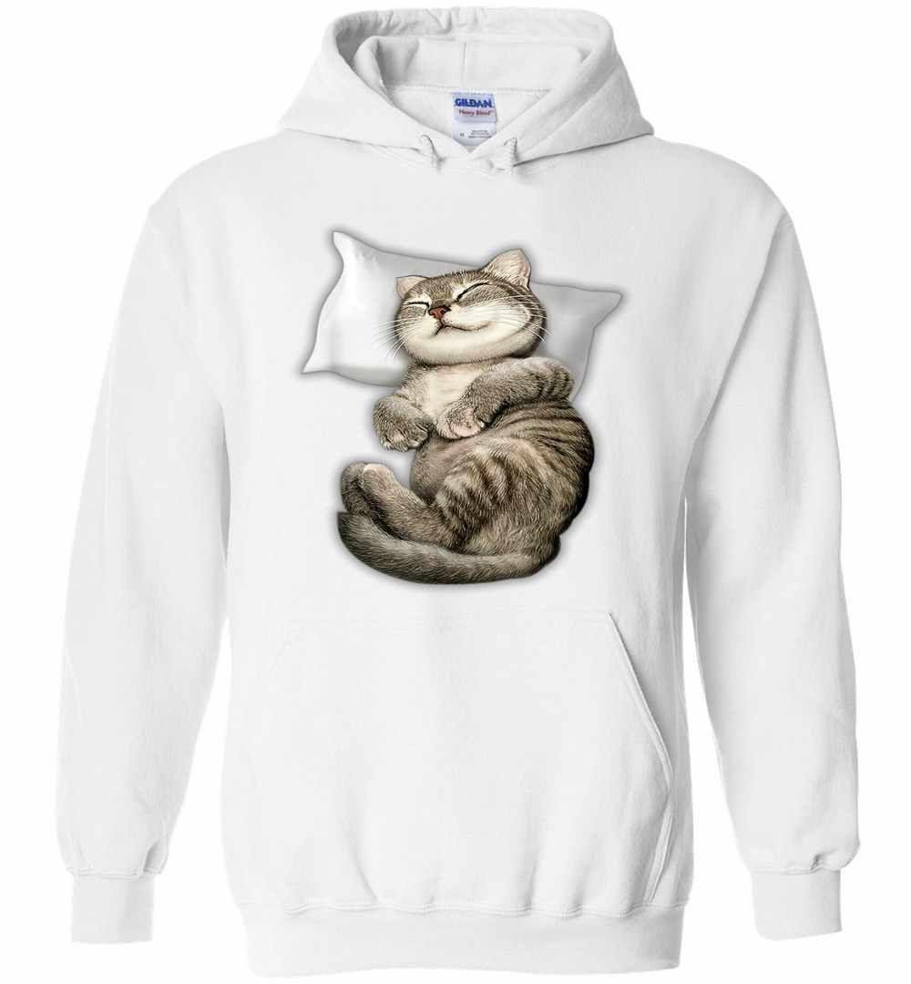 Cat Sleeping Hoodies In 2021 Cat Sleeping Hoodies Mens Sweatshirts Hoodie [ 1080 x 1000 Pixel ]