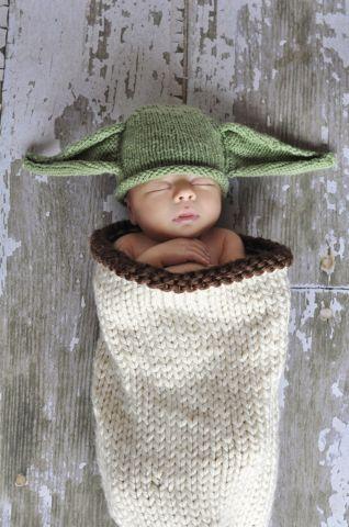 Starwars Yoda Baby Cocoons Baby Pinterest Baby Stricken