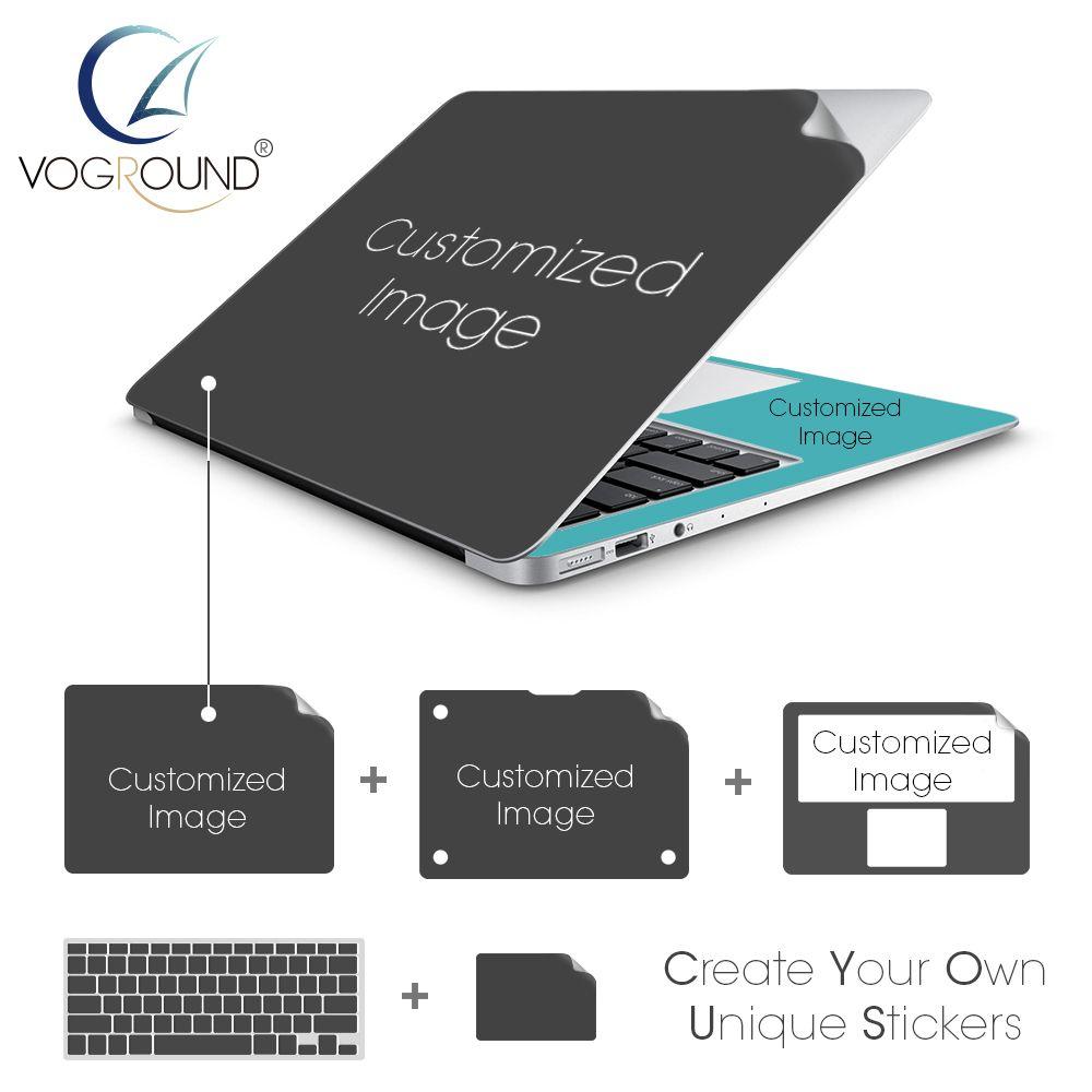 VOGROUND Customized Hot DIY Custom Protective AntiScratch Ultra - Custom vinyl stickers macbook