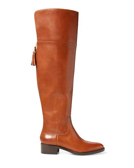 Cheap Lauren Ralph Lauren Cadyn Black Boots for Women On Sale