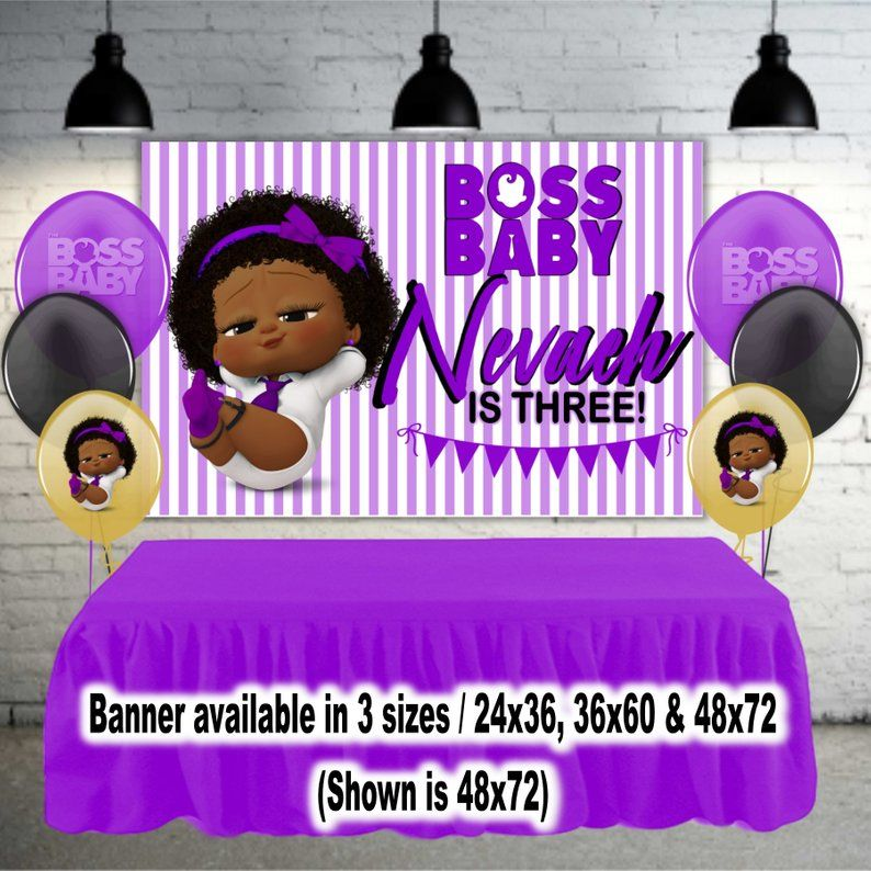 Purple Welcome Baby Girl Banner Girls First Birthday Party Supplies Baby Shower Party Decorations Gender Reveal
