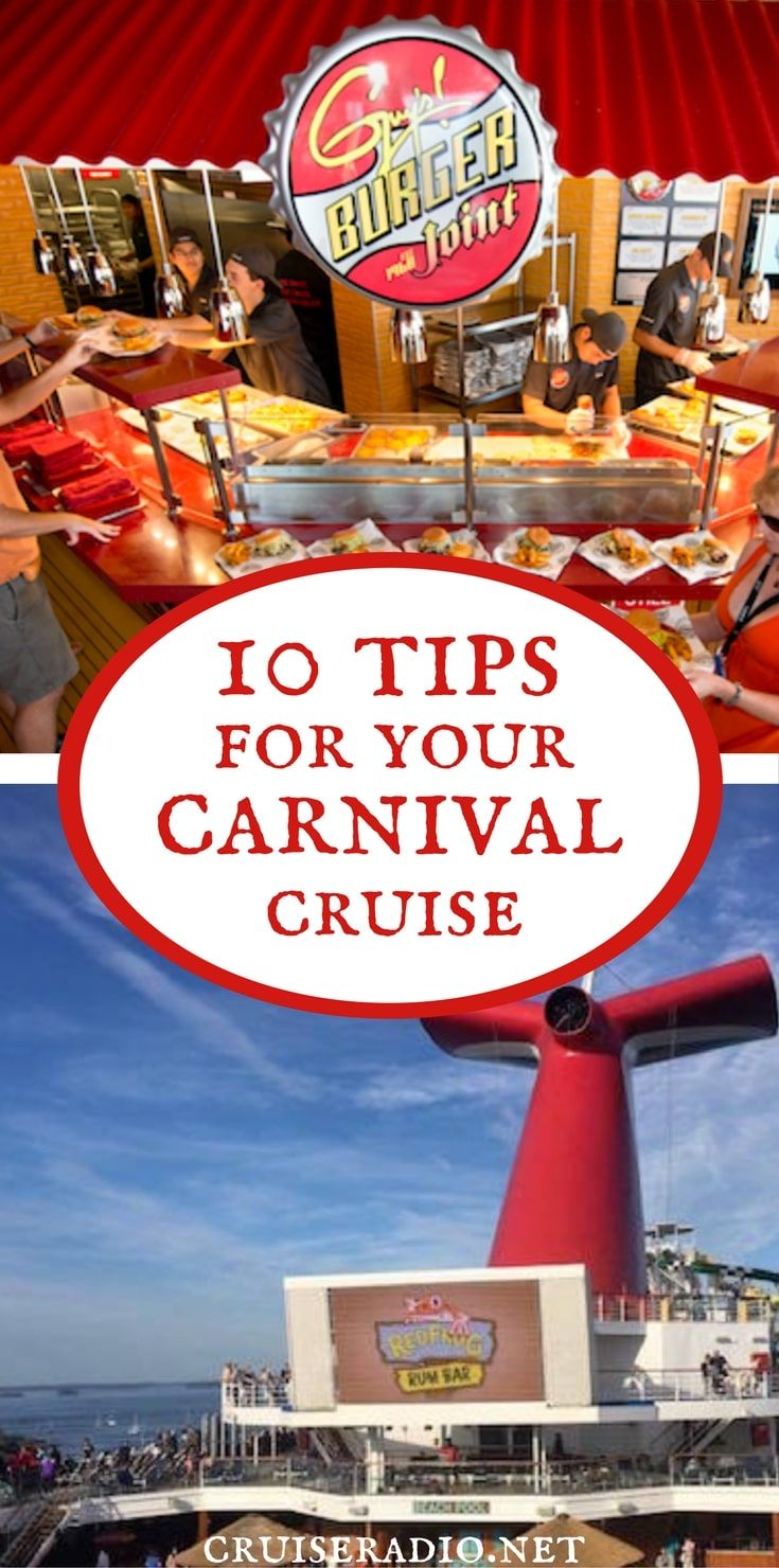 10 Tips for Carnival Cruise Line