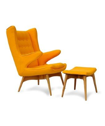 Look: Moderno Mid Century Chair - Yellow