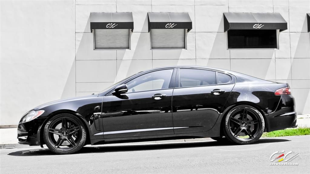 Jaguar XF With Custom Wheels By CEC In Los Angeles CA . Click To View More  Photos And Mod Info.